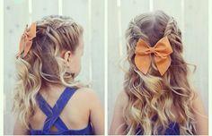 Deze vlechtjes zijn echt schattig! Betoverende vlechten voor meisjes met lang haar!