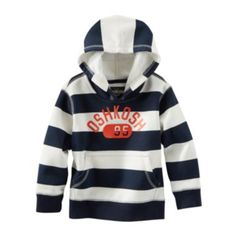 OshKosh B'gosh® Striped Pull-Over Hoodie – Boys 2t-4t  found at @JCPenney