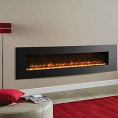 Cheapest Deal now being offered on Gazco Electric Fires here at banyo. Electric Fire And Surround, Inset Electric Fires, Wall Mounted Electric Fires, Wall Fires, Beautiful Wall, Graphite, Lounge Ideas, Fireplaces, Reception