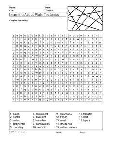 plate-tectonics-worksheet-1-638.jpg (638×903) | tectonics | Pinterest
