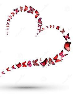 As water reflects the face, so the heart reflects the person. Proverbs – Top Trends As water reflects the face, so the heart reflects the person. Heart Wallpaper, Butterfly Wallpaper, Butterfly Kisses, Blue Butterfly, I Love Heart, My Love, Heart Images, Heart Art, Beautiful Butterflies