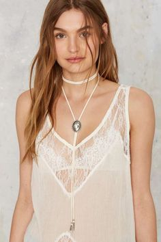 Vanessa Mooney Mess Around Concho Wrap Choker | Shop Accessories at Nasty Gal!