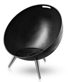 Brasero Fire Globe / Ø 64 x H 75 cm Noir - Eva Solo