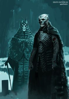 Death Eater (Harry Potter and the Goblet of Fire) concept art by Adam Brockbank