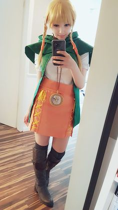 SURUDenise as Linkle