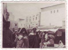 Tetuán (Protectorado Español en Marruecos): Mercado (1934) - Foto 1