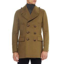 Burberry LondonSlim-Fit Wool-Blend Peacoat