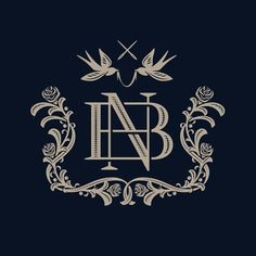 This was the vectored result of the NB monogram from a couple posts back albeit with a little more detail.