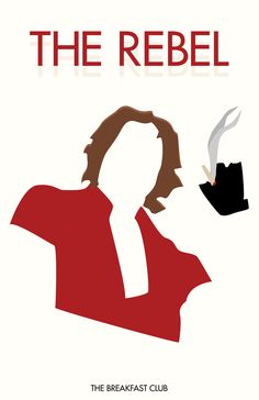 The Rebel «The Breakfast Club Author: Allison Supron John Bender, 80s Movies, Good Movies, Movie Tv, 1980s Films, Movies Showing, Movies And Tv Shows, Judd Nelson, Brat Pack