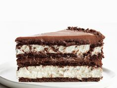 Chocolate-Hazelnut Icebox Cake recipe from Food Network Kitchen via Food Network