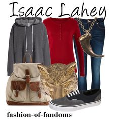 """""""Isaac Lahey"""" by fofandoms on Polyvore"""