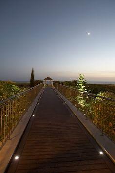Promenade towards the sea. Funchal, Madeira.
