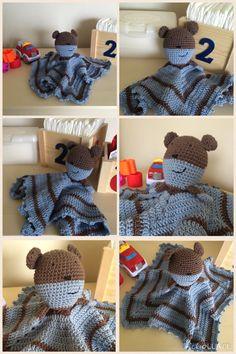 Teddy lovey in cotton