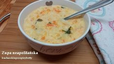 Betty gotuje: Zupa neapolitańska z serkiem topionym Cheeseburger Chowder, Food And Drink, Cooking, Blog, Diet, Gourd, Food And Drinks, Kitchen, Blogging