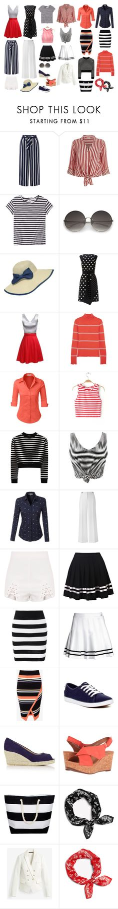 Travel Capsule #10   Idea for a budget Summer cruise travel capsule (lengthy cruise). 16-piece mix-and-match capsule + 2 dresses; 3 pairs of versatile shoes; handbag, 2 scarves, hat and sunglasses. #travel #budget #summer #cruise