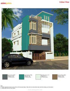 color combination on pinterest exterior colors asian paints and. Black Bedroom Furniture Sets. Home Design Ideas