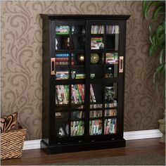 Great bookcase, I like the glass doors, keeps dust out.