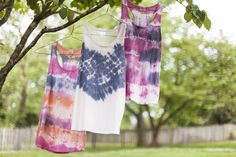 How to Tie Dye a Shirt >> http://blog.diynetwork.com/maderemade/how-to/festival-fashion-how-to-tie-dye/?soc=pinterest