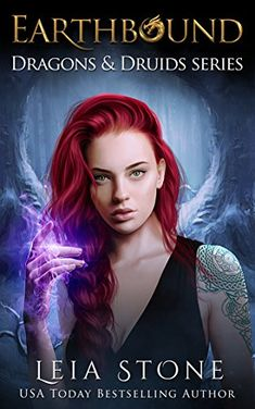 Earthbound (Dragons and Druids Book 2) - After finding out about her unique heritage, Sloane is taken under the wing of an Earth druid. She's told she must learn to control both of her warring powers or they will consume her. She needs a special staff, made just for her, to help channel her unique magic. The problem? It's ...