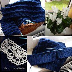 Pletené ponožky na dvou jehlicích - Vše o co se zajímám Blanket, Blog, Blogging, Blankets, Cover, Comforters