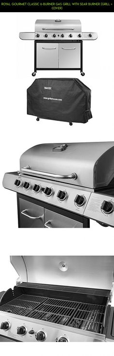 Royal Gourmet Classic 6-Burner Gas Grill with Sear Burner (Grill + Cover) #fpv #grills #technology #shopping #tech #6 #gadgets #products #camera #kit #burner #racing #parts #drone #plans