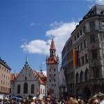 Marienplatz - Munich Deutschland. One of my favorite areas in Germany, HANDS DOWN