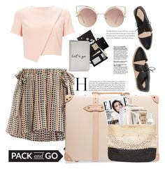 """""""Let's go"""" by mood-chic ❤ liked on Polyvore featuring Étoile Isabel Marant, Miss Selfridge, Globe-Trotter, ViX, MANGO, Royce Leather, Loeffler Randall and rio"""
