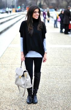 How to dress for a day in the city     STYLE'N