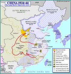 China, 1934-1944