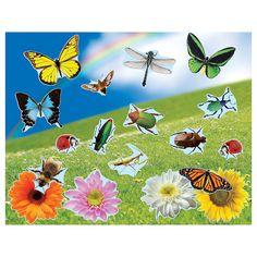 Realistic+Bugs+&+Flowers+Sticker+Scenes+-+OrientalTrading.com