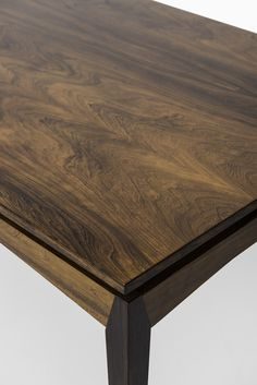 Henry W. Klein dining table in rosewood at Studio Schalling