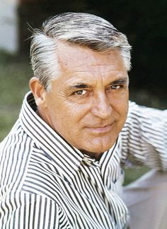 Cary Grant, unforgettable English-American actor, when he was in his mid- 60's, RIP