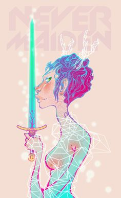Never maiden by Dia Pacheco, via Behance