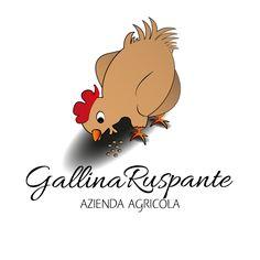 Progettazione logo per azienda agricola. Gallina Ruspante #logo #graphic #design #illustrator #company #freelance
