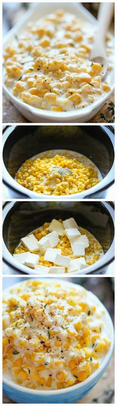 How To Slow Cooker Creamed Corn