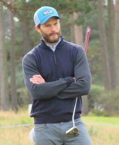 🆕🆕🆕 Jamie Dornan Alfred Dunhill Links 2017 Golfer Model Actor october 7th 2017