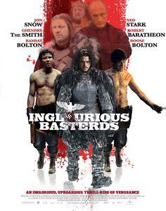Inglorious Bastards. GOT throne movies. #Imgur