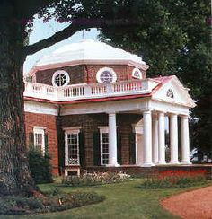 Thomas Jefferson's Monticello, Virginia