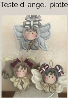 1 million+ Stunning Free Images to Use Anywhere Christmas Crafts For Gifts, Felt Christmas, Christmas Projects, Handmade Christmas, Christmas Ornaments, Christmas 2017, Angel Ornaments, Vintage Ornaments, Felt Crafts
