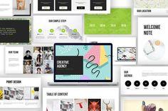 Creative Agency Google Slide Presentation by giantdesign on Envato Elements