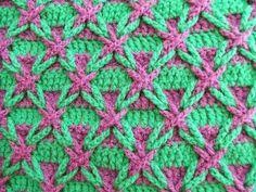 Stitch of crochet Polish Star ~ YARN CROCHET