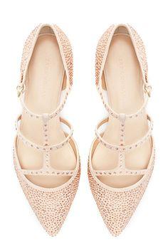 shiny pointy ballerinas