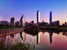 Resultado de imagen para sanhattan santiago de chile New York Skyline, Cities, Travel, Helpful Hints, City, Drawings, Santiago, Earth, Cute
