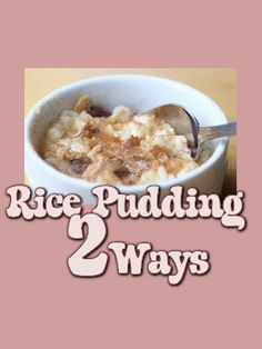 I have always loved rice pudding.  It is so versatile and delicious!  I think I have made it 20 different ways from plain to chocolate.  However, as many flavors as I have made it, I think I...