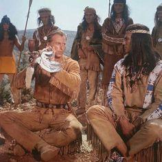 Winnetou & Old Shatterhand Western Film, Westerns, Native American, Cinema, Actors, Celebrities, Movies, Entertainment, Selfie