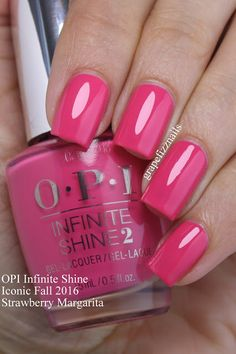Grape Fizz Nails: OPI Infinite Shine Iconic Shades for Fall 2016 Opi Nails, Manicure And Pedicure, Pedicures, Fabulous Nails, Gorgeous Nails, Opi Nail Colors, Pretty Nail Art, How To Do Nails, Cute Nails