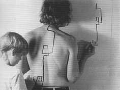 Dennis Oppenheim, 'Two stage transfer drawing'  (1971)
