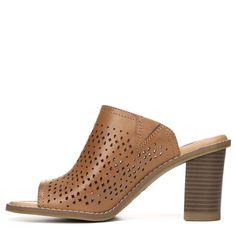 Dr. Scholl's Women's Promise Memory Foam Mule Shoes (Carmel Perf) - 11.0 M