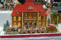 Award winning Gingerbread House | Award winning gingerbread houses photos