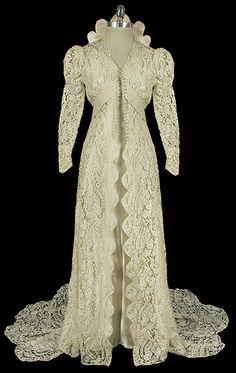 1930s Wedding Dress.